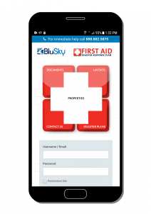 First Aid Disaster Response Plan Mobile App