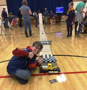 Pinewood Derby 1st Place