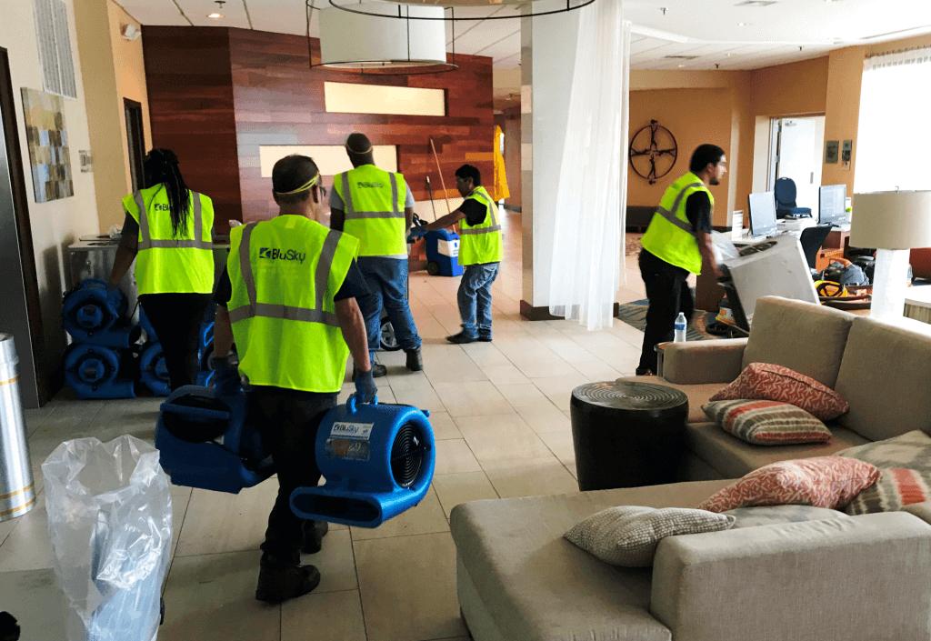 BluSky crews respond to Hurricane Florence