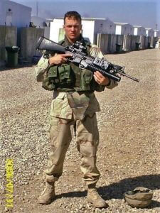 Travis Vogt, US Army veteran