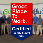 BluSky is a Great Place to Work-Certified™ Company