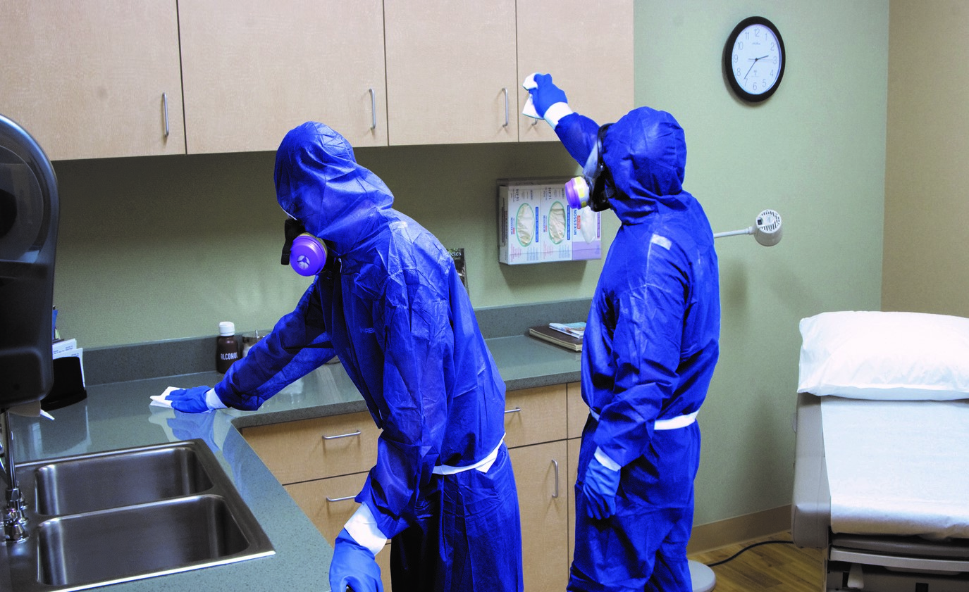 BluSky hospital disinfection cres